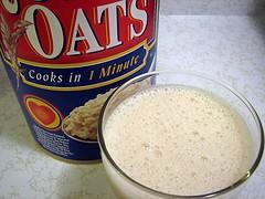 Propiedades de la leche de avena