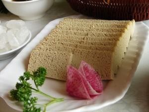 Pastel de tofu