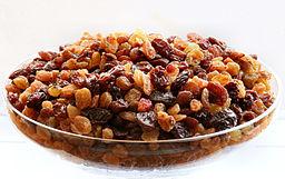 Las uvas pasas contra el colesterol alto